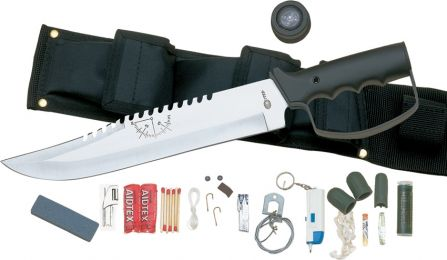 Bushmaster by United Cutlery Survival Knife W/Kit