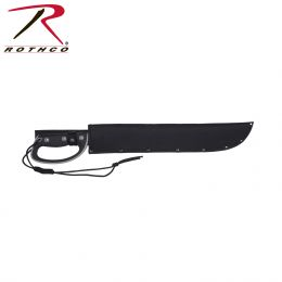 "Rothco 18"" D-handle Sawback Machete"
