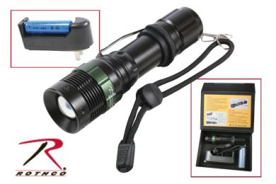Rothco 3 Watt LED Flashlight With Charger