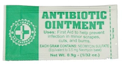 100 Antibiotic Ointment Packets FAAO CS