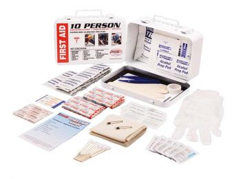 10 Person First Aid Kit FA10