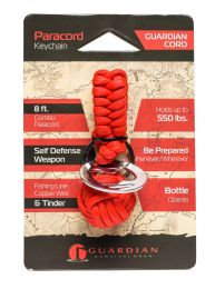 Guardian Cord Paracord Keychain (Red) RTPC 23