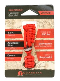 Guardian Adjustable Paracord Bracelet (Wrath) RTPC 05