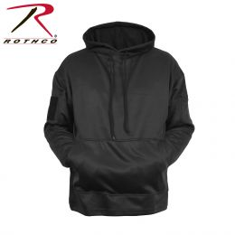 Concealed Carry Hoodie Sweatshirt by Rothco (Color: Black, size: S)