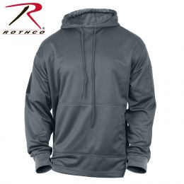 Concealed Carry Hoodie Sweatshirt by Rothco (Color: Gun Metal Grey, size: S)