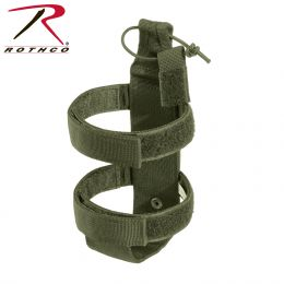Lightweight MOLLE Water Bottle Carrier (Color: Olive Drab)