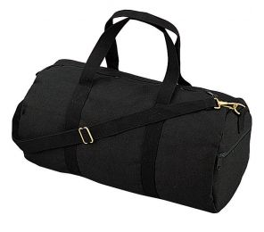 Rothco Canvas Shoulder Duffle Bag - 19 Inch (Color: Black)