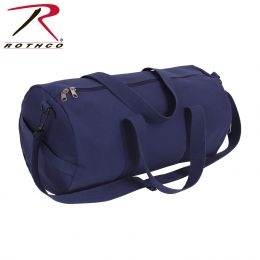 Rothco Canvas Shoulder Duffle Bag - 19 Inch (Color: Navy Blue)