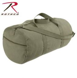 Rothco Canvas Shoulder Duffle Bag - 24 Inch (Color: Olive Drab)