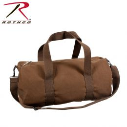 Rothco Canvas Shoulder Duffle Bag - 19 Inch (Color: Earth Brown)