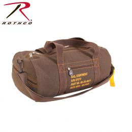 Rothco Canvas Equipment Bag (Color: Earth Brown)