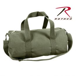 Rothco Canvas Shoulder Duffle Bag - 19 Inch (Color: Olive Drab)