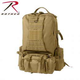 Global M.O.L.L.E. Backpack (Color: Coyote Brown)