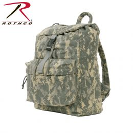 Canvas Back Pack (Color: ACU Digital Camo)