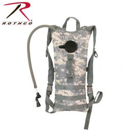 Rothco MOLLE 3 Liter Backstrap Hydration System (Color: ACU Digital Camo)