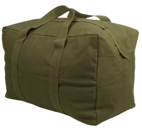 Rothco Canvas Parachute Cargo Bag (Color: Olive Drab)