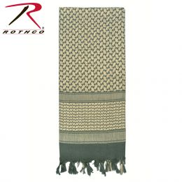 Lightweight Shemagh Scarves (Color: Foliage Green)