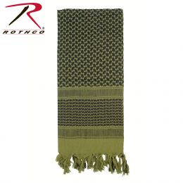 Lightweight Shemagh Scarves (Color: Olive Drab)