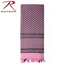 Lightweight Shemagh Scarves (Color: Pink)