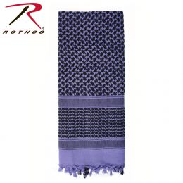 Lightweight Shemagh Scarves (Color: Purple)