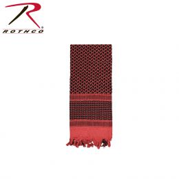 Lightweight Shemagh Scarves (Color: Red / Black)