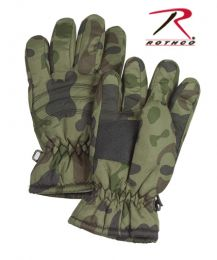 Rothco Kid's Camo Thermoblock Insulated Gloves (size: S)
