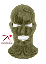 Rothco 3 Hole Face Mask (Color: Olive Drab)
