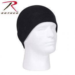 Rothco Deluxe Acrylic Skull Cap (Color: Black)
