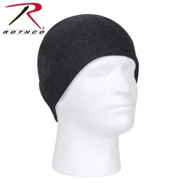 Rothco Deluxe Acrylic Skull Cap (Color: Charcoal Grey)