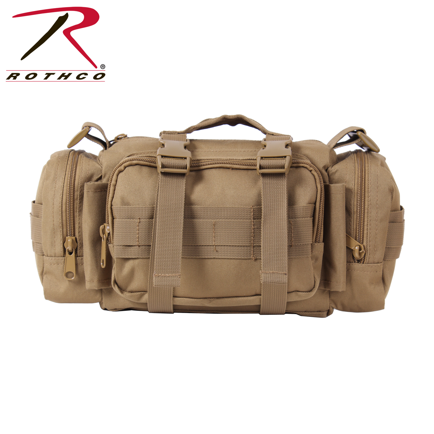 Fast Access Tactical Trauma First Aid Kit (Color: Coyote Brown)