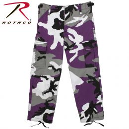 Rothco Kid's Ultra Violet BDU Pants (size: XS, Camo Color: Ultra Violet Camo)