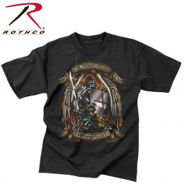 Black Ink 'Put On The Whole Armor Of God' T-Shirt (size: S)