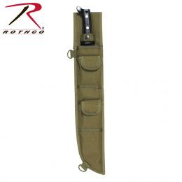 Rothco 18 Inch MOLLE Compatible Machete Sheath (Color: Olive Drab)