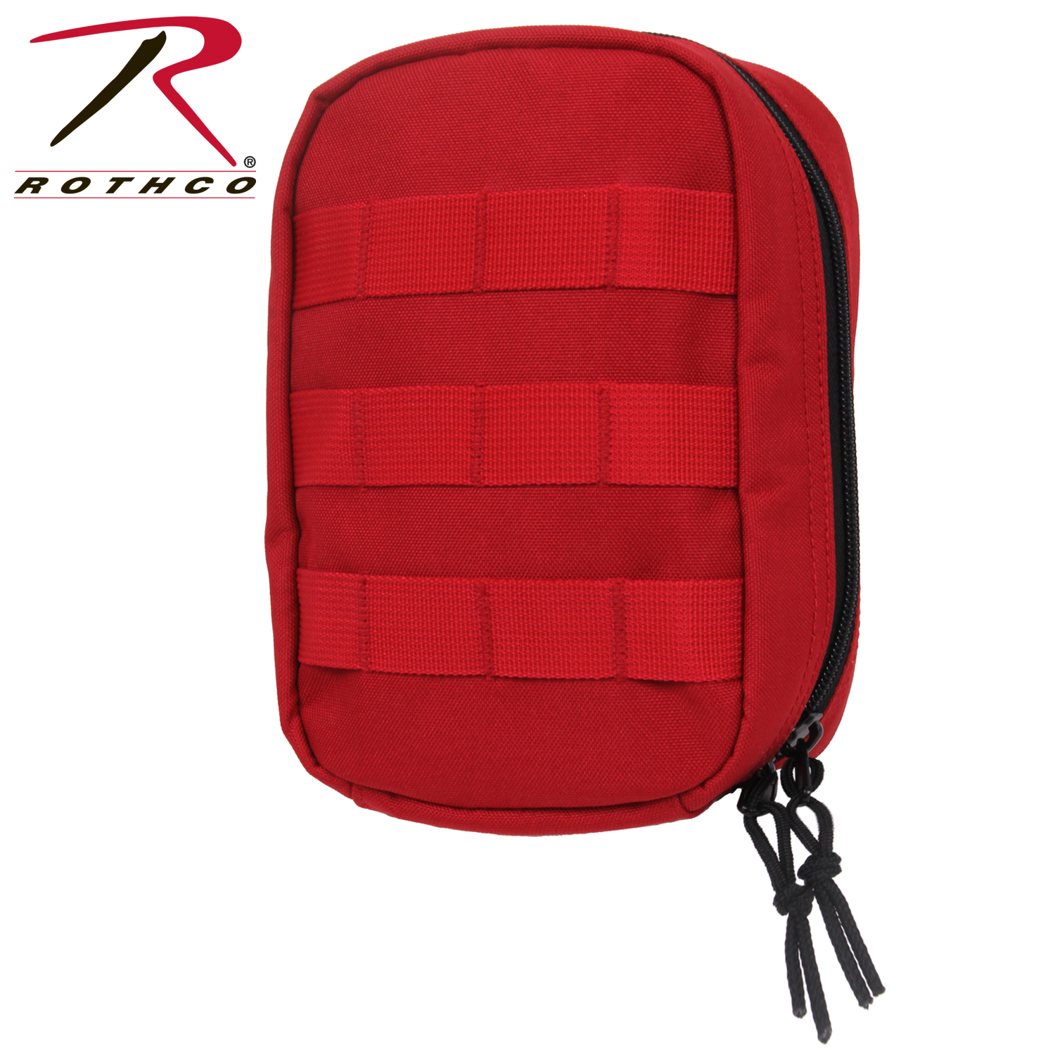MOLLE Trauma First Aid Kit (Color: Red)